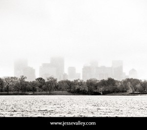Minneapolis in Fog