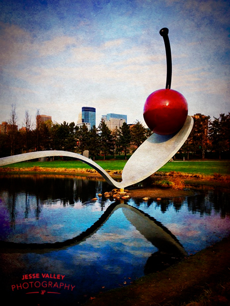 Spoon Bridge and Cherry at the Minneapolis Sculpture Garden